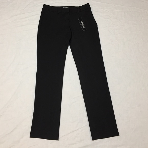 9db406108f99d Express Pants | Editor Slim Fit Womens Dress | Poshmark